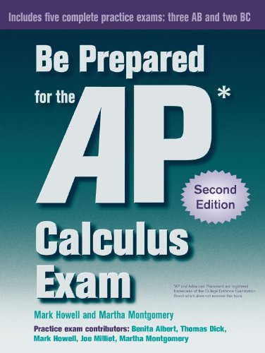 Be Prepared for the AP Calculus Exam  2nd edition cover
