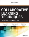 Collaborative Learning Techniques A Handbook for College Faculty 2nd 2014 edition cover