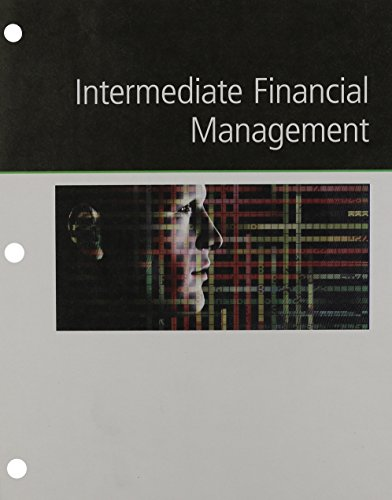 Intermediate Financial Management  12th 2016 edition cover