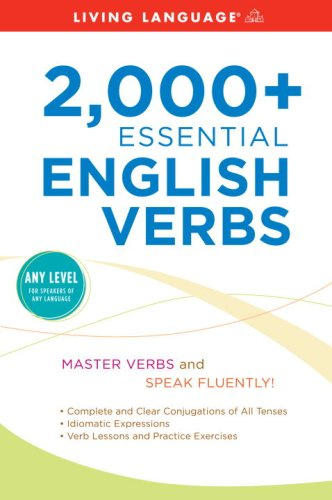 2,000+ Essential English Verbs  Large Type  9781400006557 Front Cover
