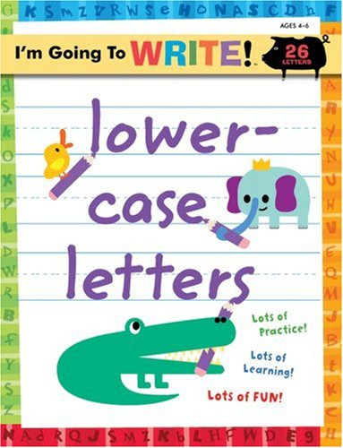 Lower-Case Letters   2007 edition cover