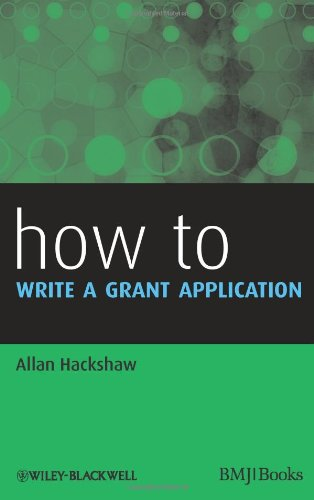 How to Write a Grant Application   2011 9781405197557 Front Cover