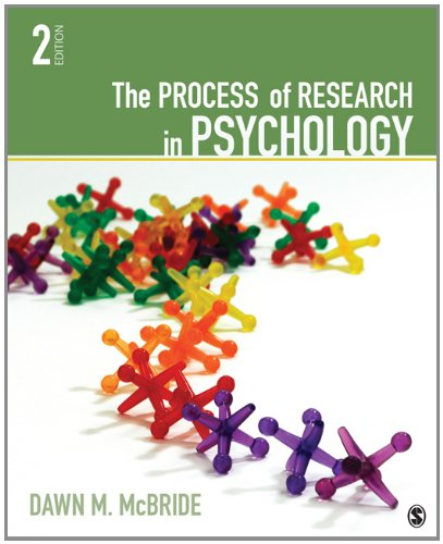 Process of Research in Psychology  2nd 2013 edition cover