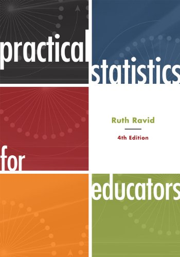 Practical Statistics for Educators  4th 2010 9781442206557 Front Cover