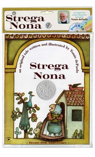 Strega Nona Book and CD N/A 9781442433557 Front Cover