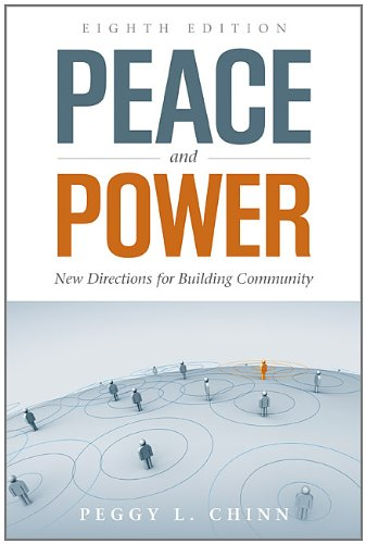 Peace and Power New Directions for Building Community 8th 2013 edition cover