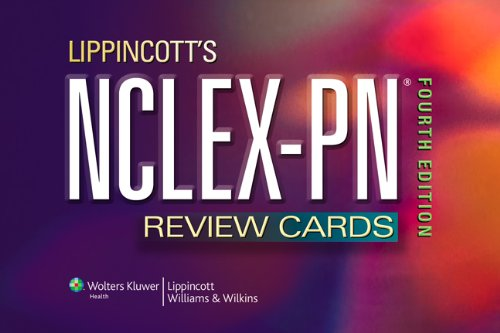 Lippincott's NCLEX-PN� Review Cards  4th 2010 (Revised) edition cover