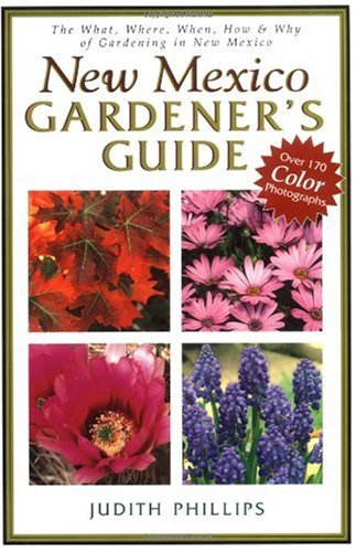 New Mexico Gardener's Guide   2001 edition cover