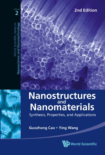 Nanostructures and Nanomaterials Synthesis, Properties, and Applications (2Nd Edition) 2nd 2010 edition cover