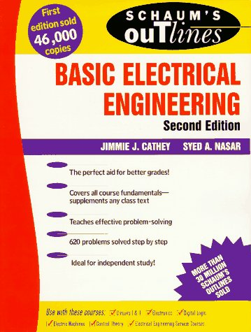 Schaum's Outline of Basic Electrical Engineering  2nd 1997 (Revised) edition cover