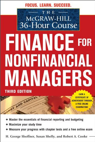 Finance for Nonfinancial Managers  3rd 2011 edition cover