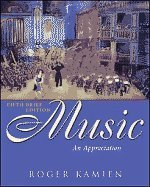 Music : An Appreciation 5th 2006 edition cover