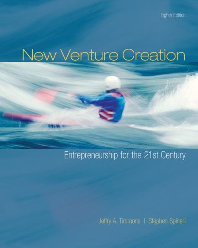 New Venture Creation Entrepreneurship for the 21st Century 8th 2009 edition cover