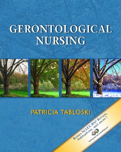 Gerontological Nursing   2006 edition cover