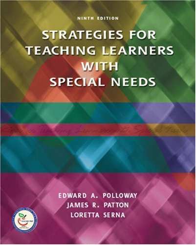 Strategies for Teaching Learners with Special Needs  9th 2008 edition cover
