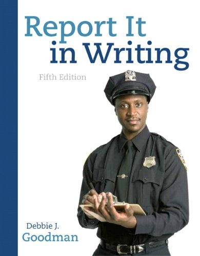 Report It in Writing  5th 2011 9780136093558 Front Cover