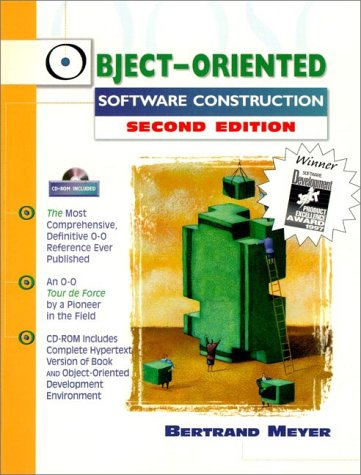 Object-Oriented Software Construction  2nd 1997 (Revised) edition cover