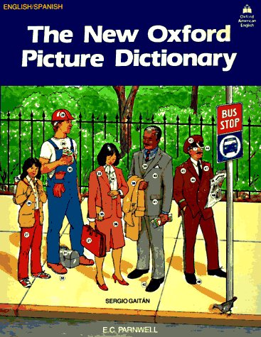 New Oxford Picture Dictionary   1989 edition cover