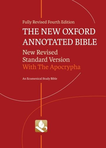 New Oxford Annotated Bible with the Apocrypha  4th 2010 edition cover