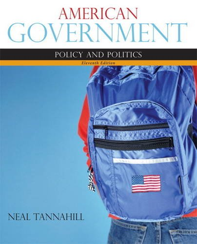 American Government  11th 2012 (Revised) edition cover