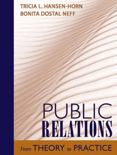 Public Relations From Theory to Practice  2008 edition cover