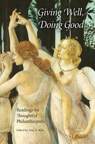 Giving Well, Doing Good Readings for Thoughtful Philanthropists  2007 edition cover