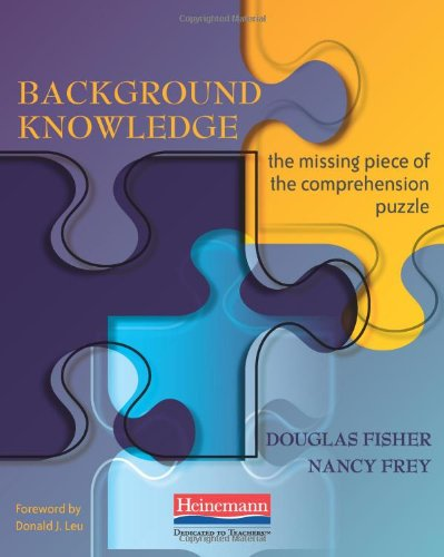 Background Knowledge The Missing Piece of the Comprehension Puzzle  2009 edition cover