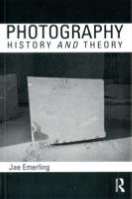 Photography History and Theory  2012 edition cover