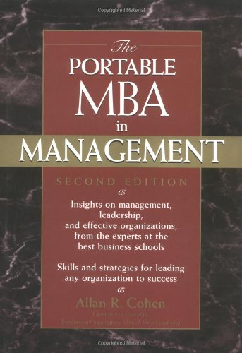 Portable MBA in Management  2nd 2002 (Revised) edition cover