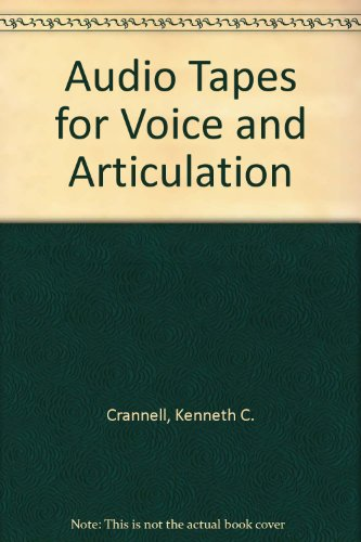 Voice and Articulation  4th 2000 9780534523558 Front Cover