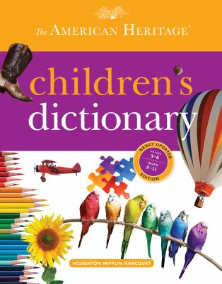 American Heritage Children's Dictionary   2013 edition cover
