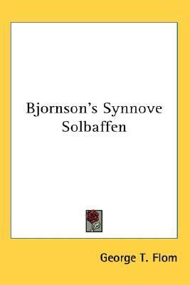Bjornson's Synnove Solbaffen N/A 9780548058558 Front Cover