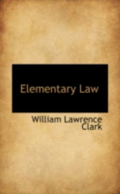 Elementary Law:   2008 edition cover