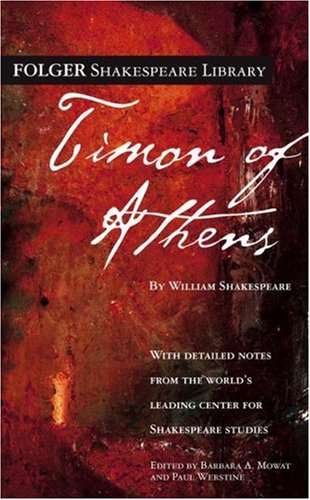 Timon of Athens   2006 edition cover