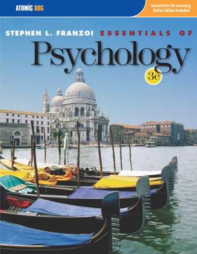 Essentials of Psychology  3rd 2008 9780759395558 Front Cover