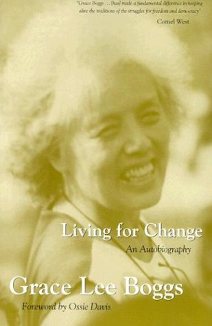 Living for Change An Autobiography 2nd 1998 edition cover