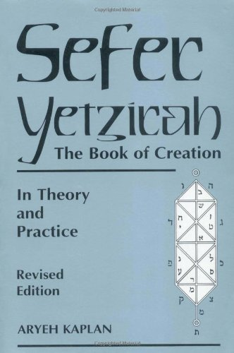 Sefer Yetzirah The Book of Creation 2nd 1997 (Reprint) 9780877288558 Front Cover
