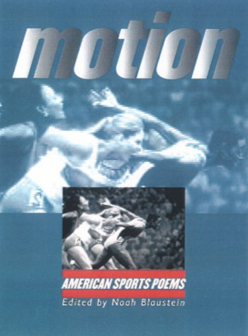 Motion American Sports Poems  2001 9780877457558 Front Cover
