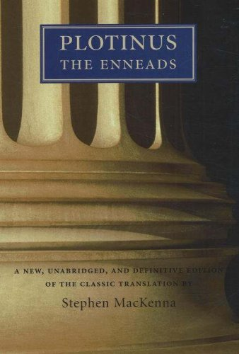 Plotinus The Enneads  1992 (Reprint) edition cover