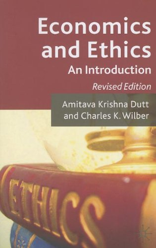 Economics and Ethics An Introduction  2010 (Revised) edition cover