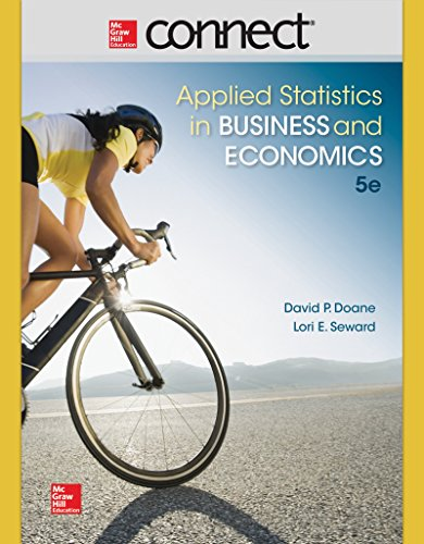 APPLIED STAT.IN BUS.+ECON.-CONNECT PLUS N/A edition cover