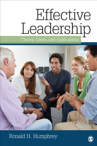 Effective Leadership Theory, Cases, and Applications  2014 edition cover