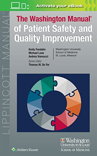 Cover art for Washington Manual of Patient Safety and Quality Improvement, 1st Edition