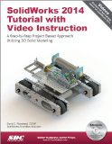 SolidWorks 2014 Tutorial with Video Instruction  N/A edition cover
