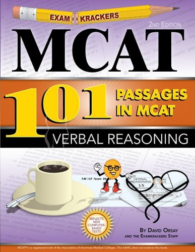 Examkrackers 101 Passages in MCAT Verbal Reasoning  2nd 2008 edition cover