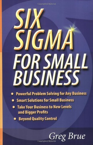 Six SIGMA for Small Business   2006 edition cover