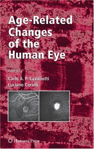 Age-Related Changes of the Human Eye   2008 9781934115558 Front Cover