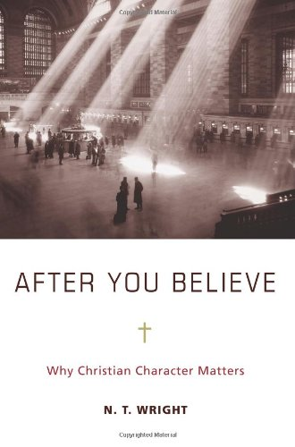 After You Believe Why Christian Character Matters  2010 9780061730559 Front Cover