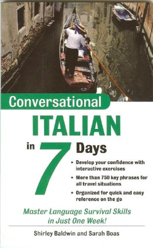 Conversational Italian in 7 Days  2nd 2004 edition cover