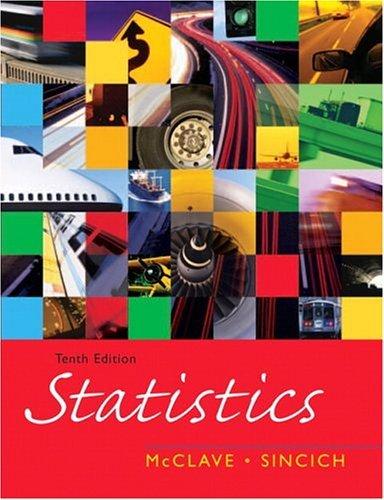 Statistics  10th 2006 edition cover